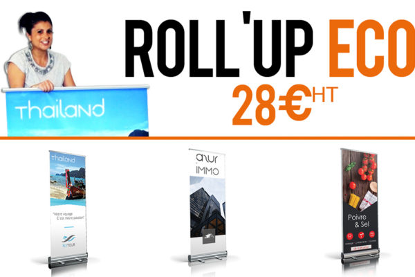 video impression rollup eco