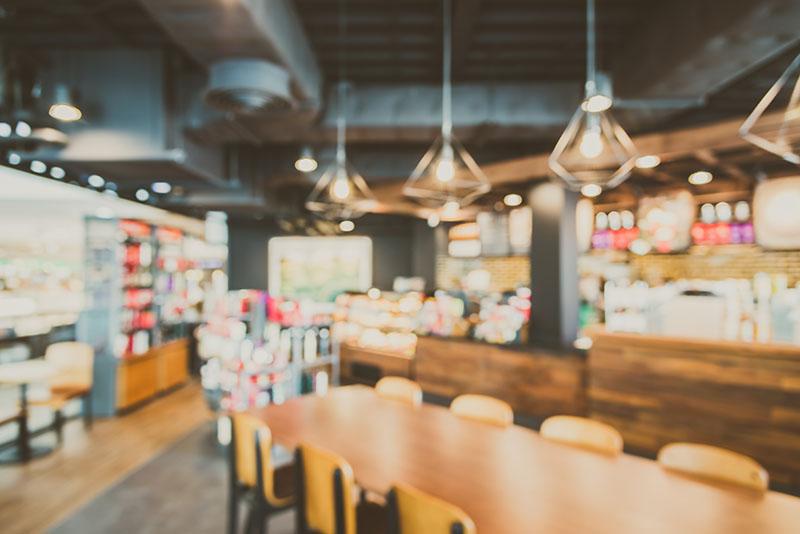 Impression d'outils publicitaires pour restaurants