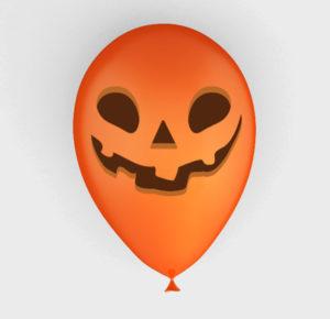 ballon de baudruche Halloween