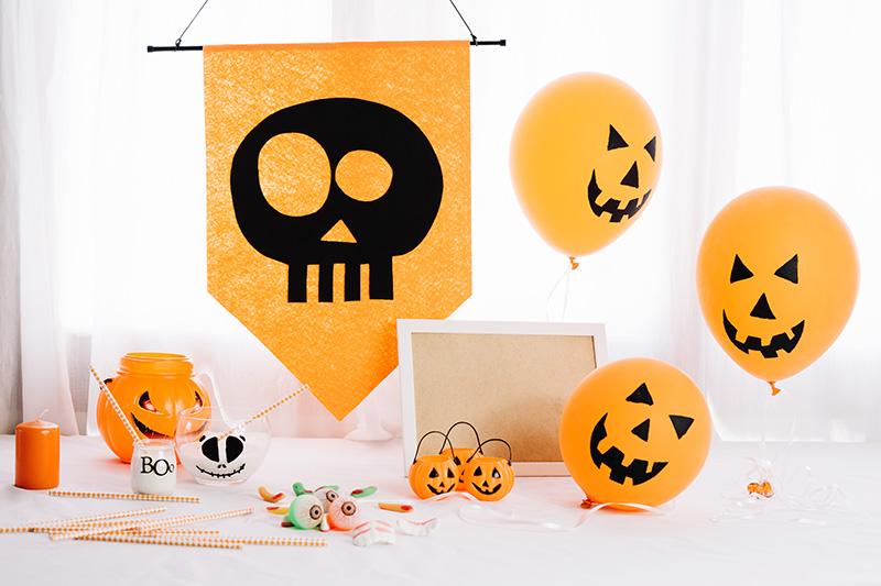 supports de communication Halloween