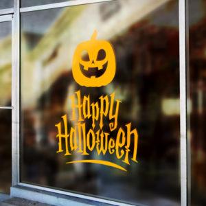 lettrage adhésif Halloween