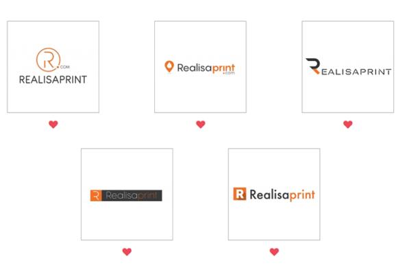 sélection des logos