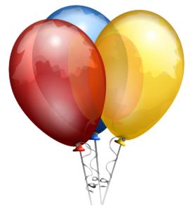 ballon noel fin dannée