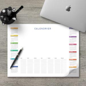 calendriers cadeaux bureautiques