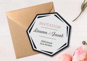 carte d'invitation fin d'année