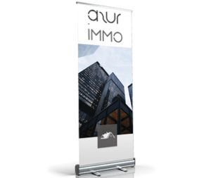 impression roll up agence immobilière