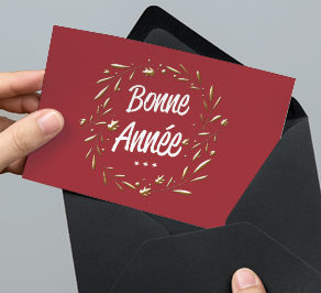carte de vœux professionnelle