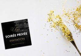 invitation soirée privée