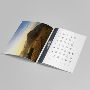 impression photographique calendrier