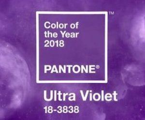 création graphique Pantone Ultra-Violet