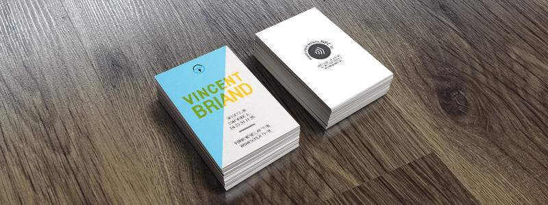 cartes de visite connectées
