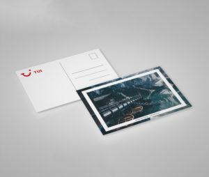 impression carte postale indéchirable