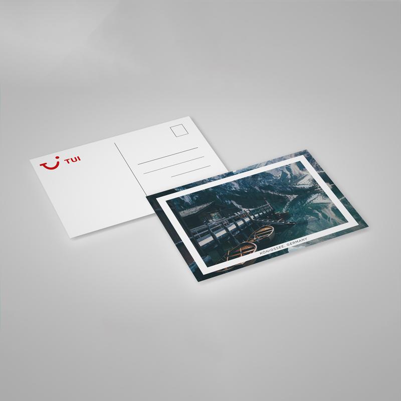 Impression Carte Postale Indechirable