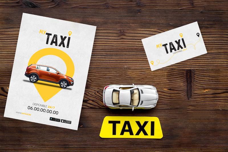 impression compagnie de taxi