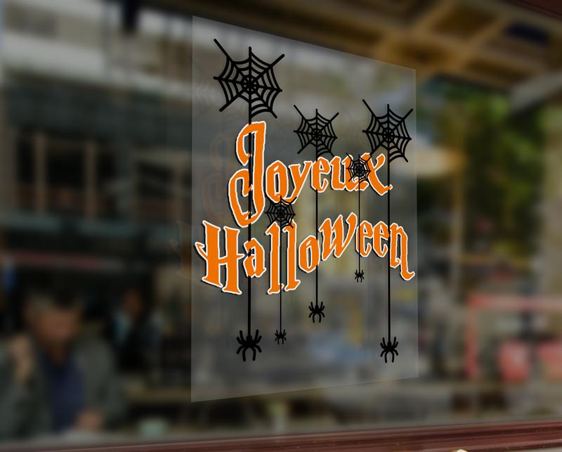 Impression adhésif Halloween
