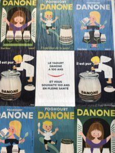 affichage danone