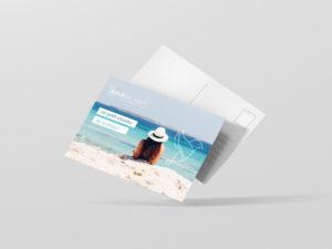 carte postale vacance