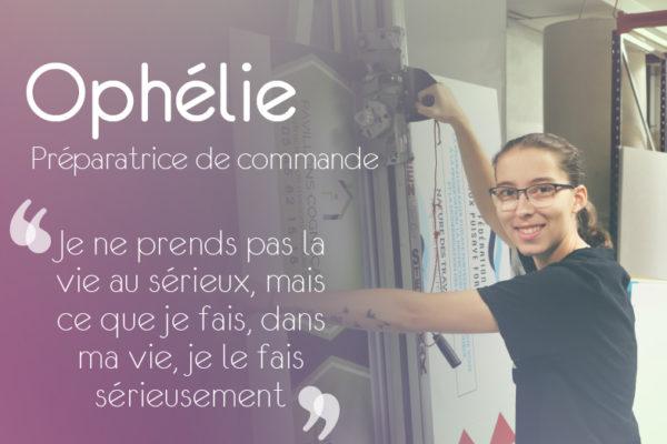 À la rencontre d'Ophélie, préparatrice de commande