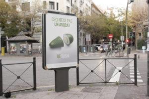 affichage urbain