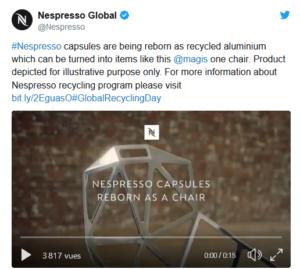 nespresso environnement