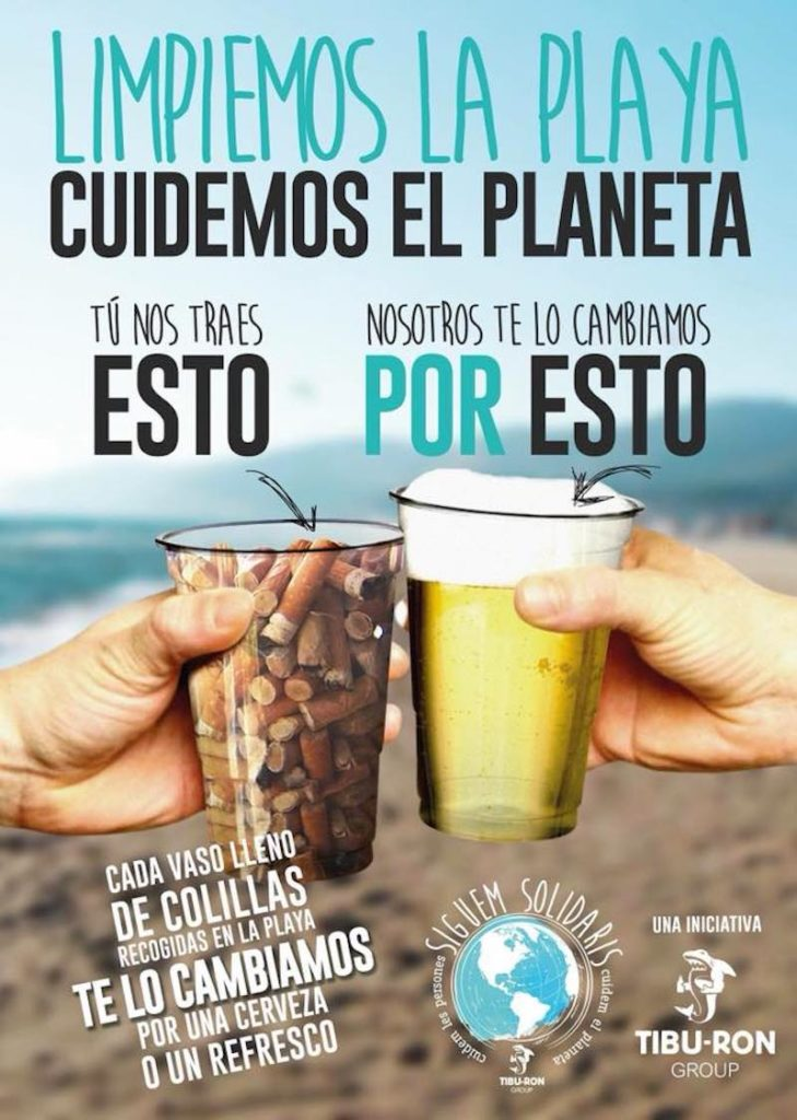 video barcelone pollution biere