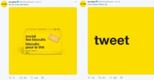 campagne marketing no name