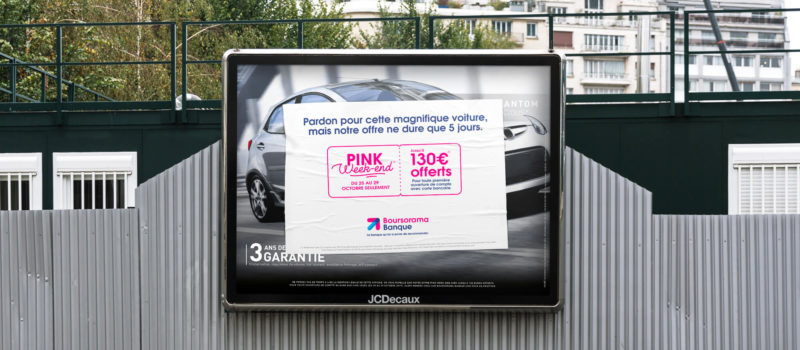 campagne affichage