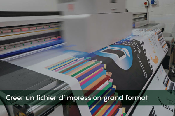fichier d'impression grand format