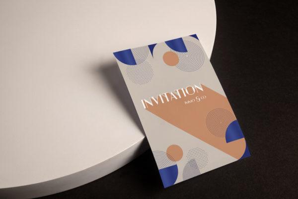 impression carte d'invitation