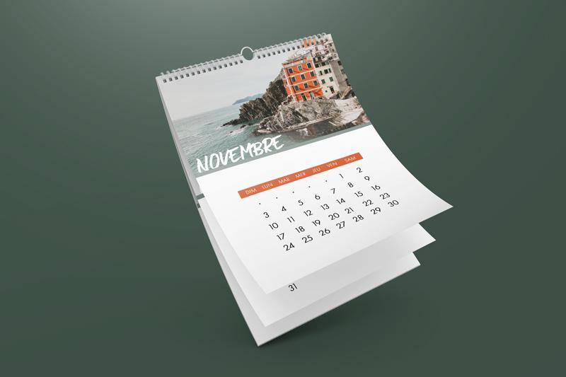 impression calendrier personnalisé