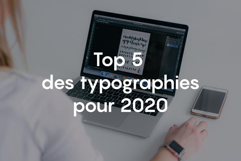 typographies 2020