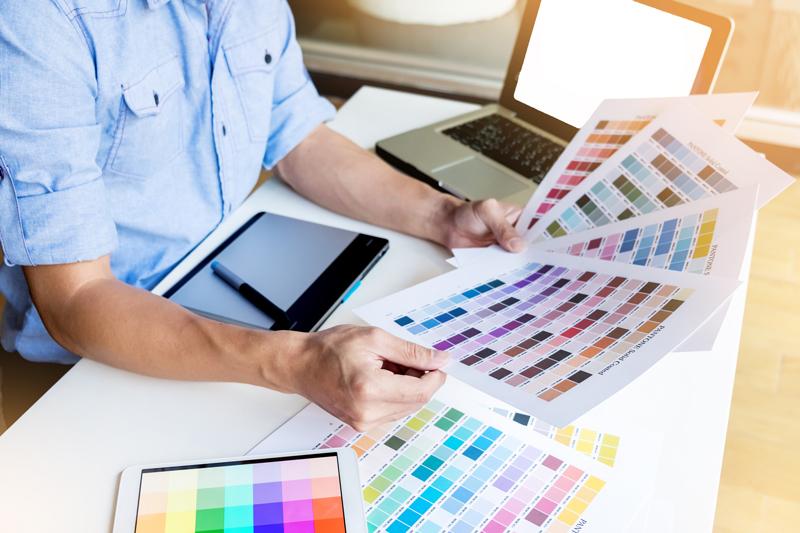 mode colorimétrique imprimerie