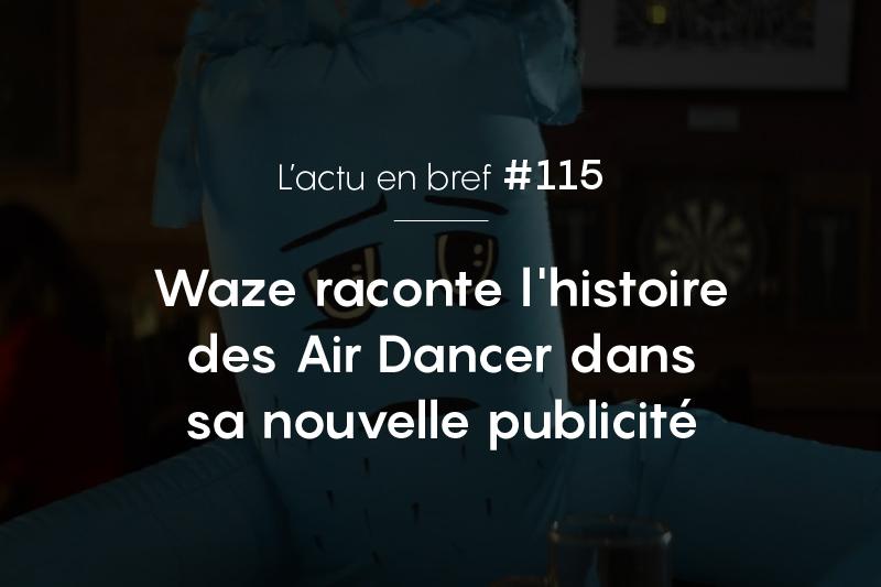 publicité Waze