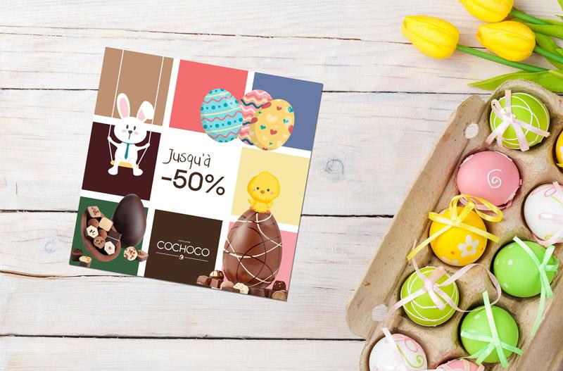 impression flyer Pâques