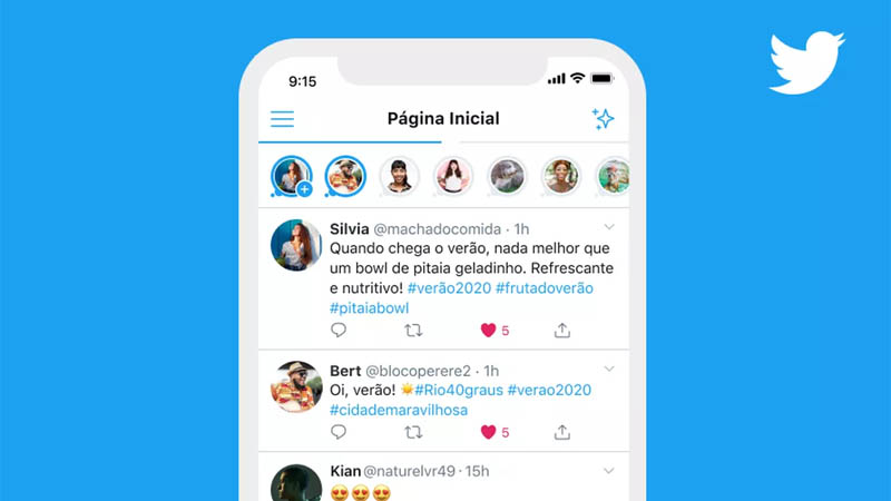 stories Twitter