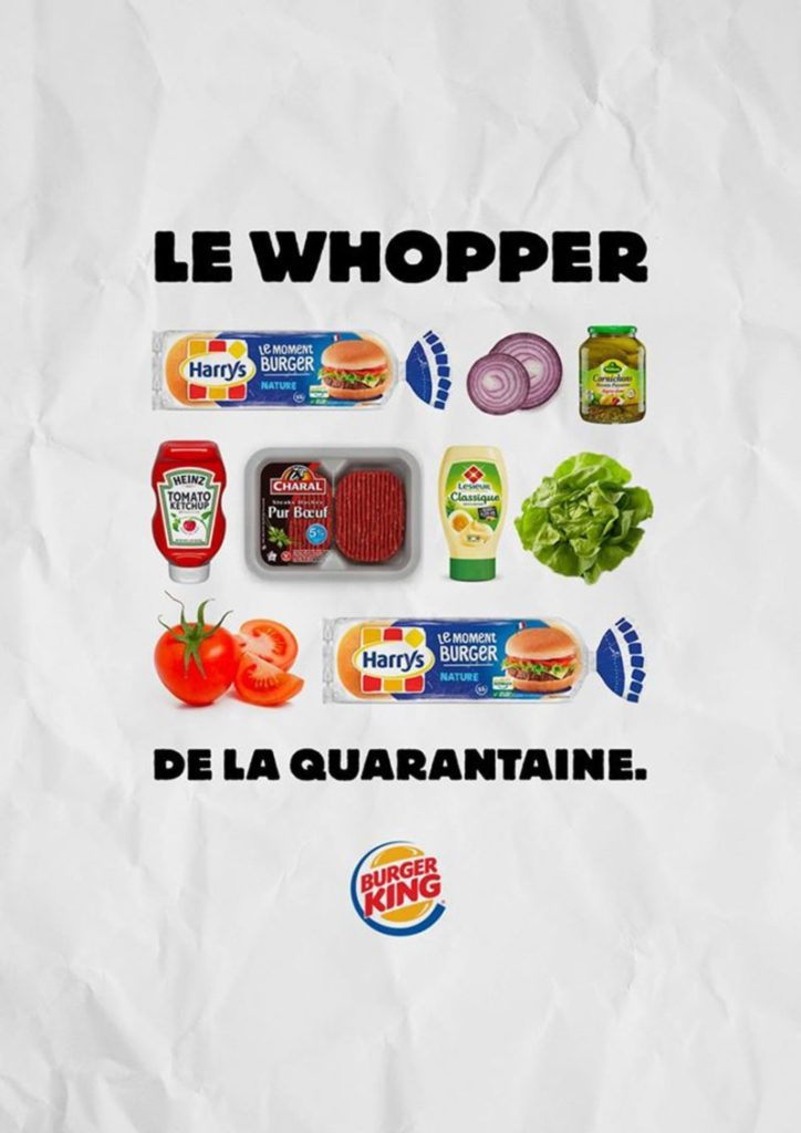 communication burger king