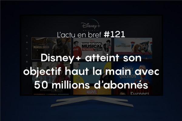 Disney+ actualité