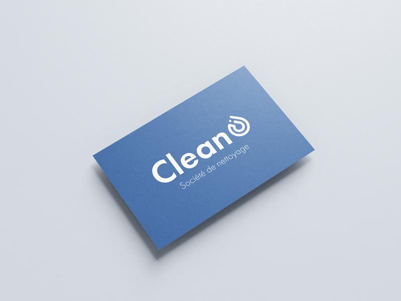 impression carte de visite sociétés de nettoyage