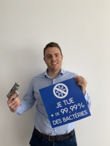 laminage antimicrobien