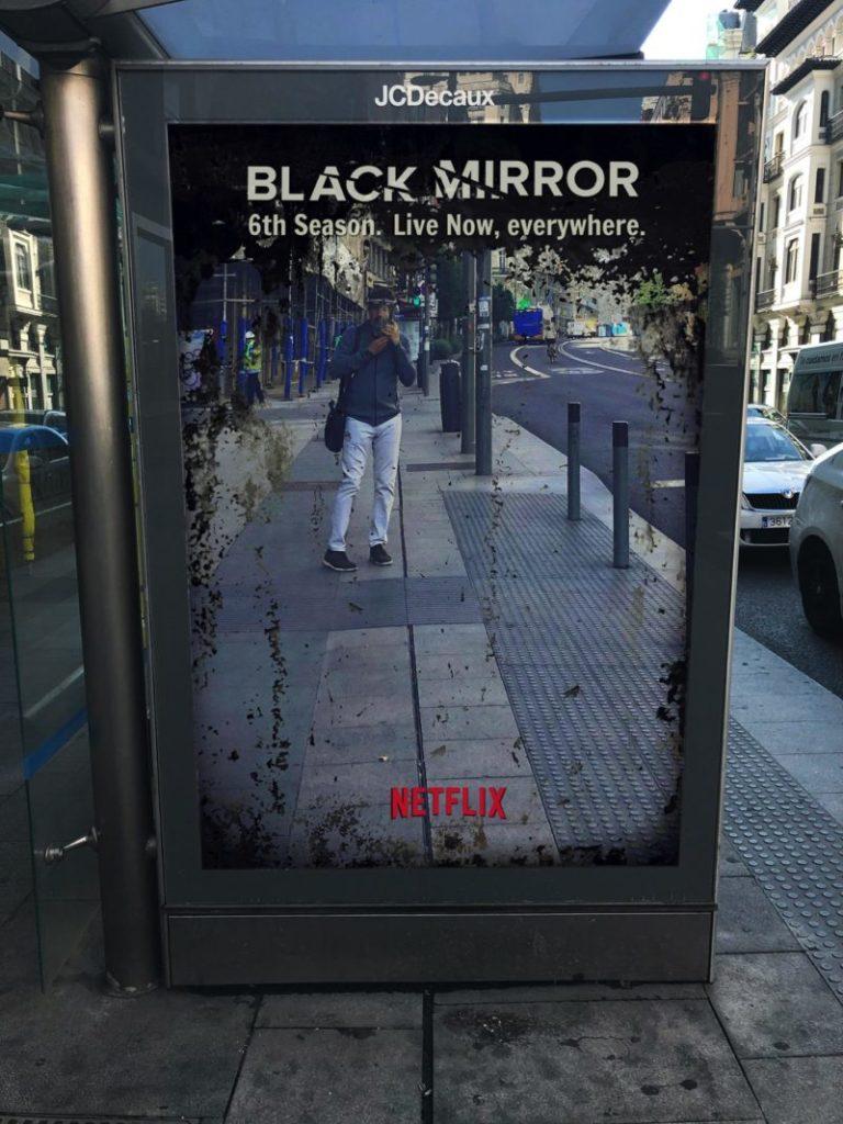 affiche black mirror Netflix