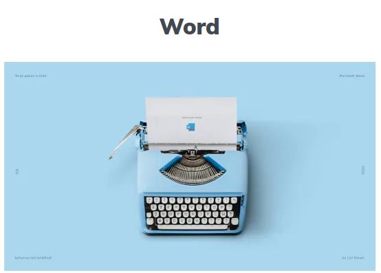 graphiste word