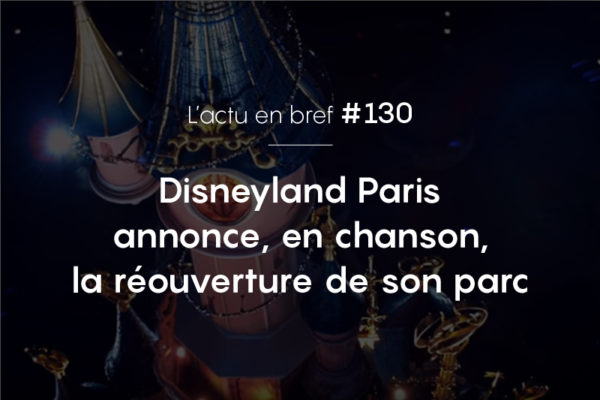 Disneyland paris actu