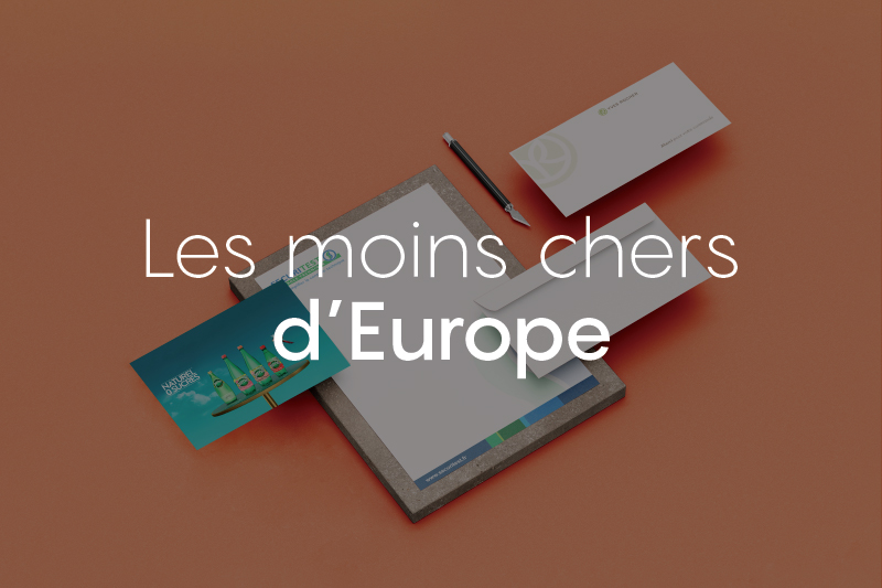 produits moins chers d'Europe imprimerie