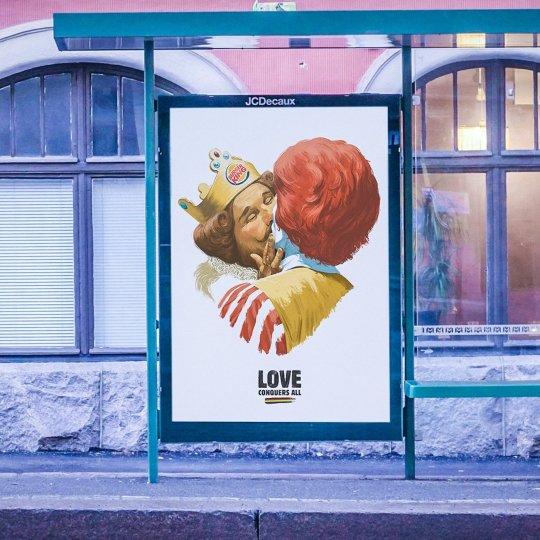 publicité burger king