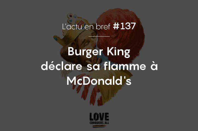 Burger King et McDonalds