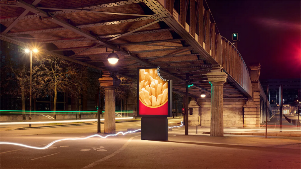 campagne affichages mcdo