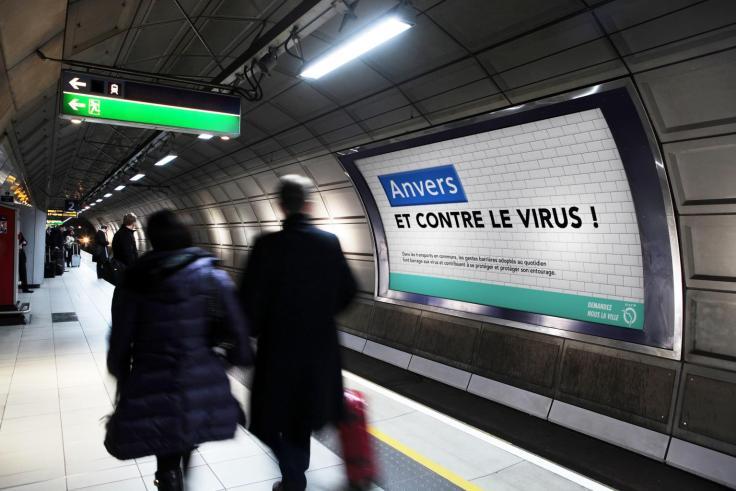 station de metro paris créatif