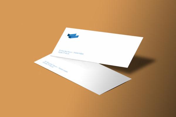 impression carte de correspondance personnalisée