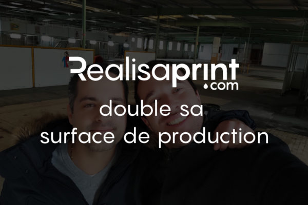 unité de production Realisaprint.com