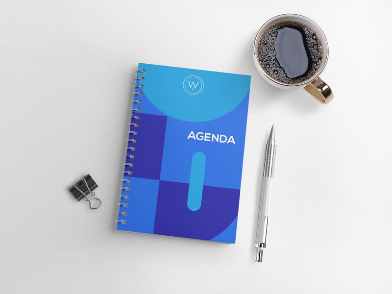 agenda personnalisé début d'année